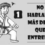Los diez mandamientos de los Nerds del Karate